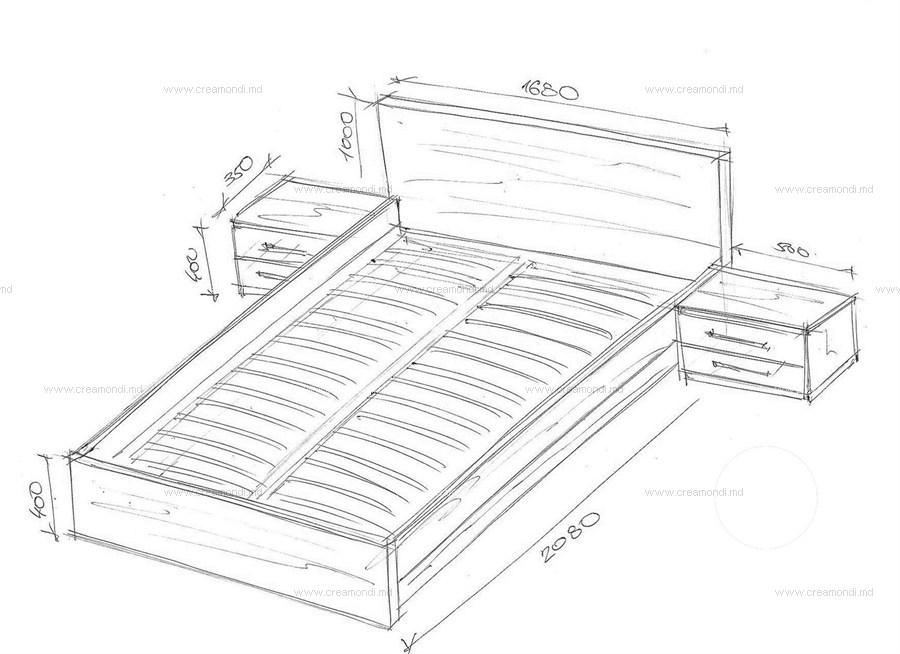 Кровати из дсп своими руками чертежи размеры 378