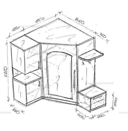 мебельные горки камелия