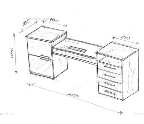 Маникюрный стол своими руками чертежи фото 94