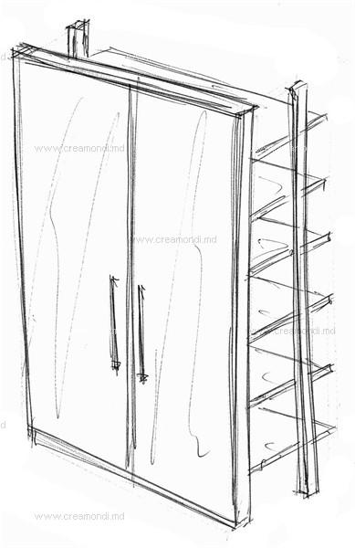 Распашные шкафы на балкон технология..