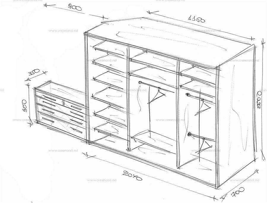 схем и чертежей шкафа.