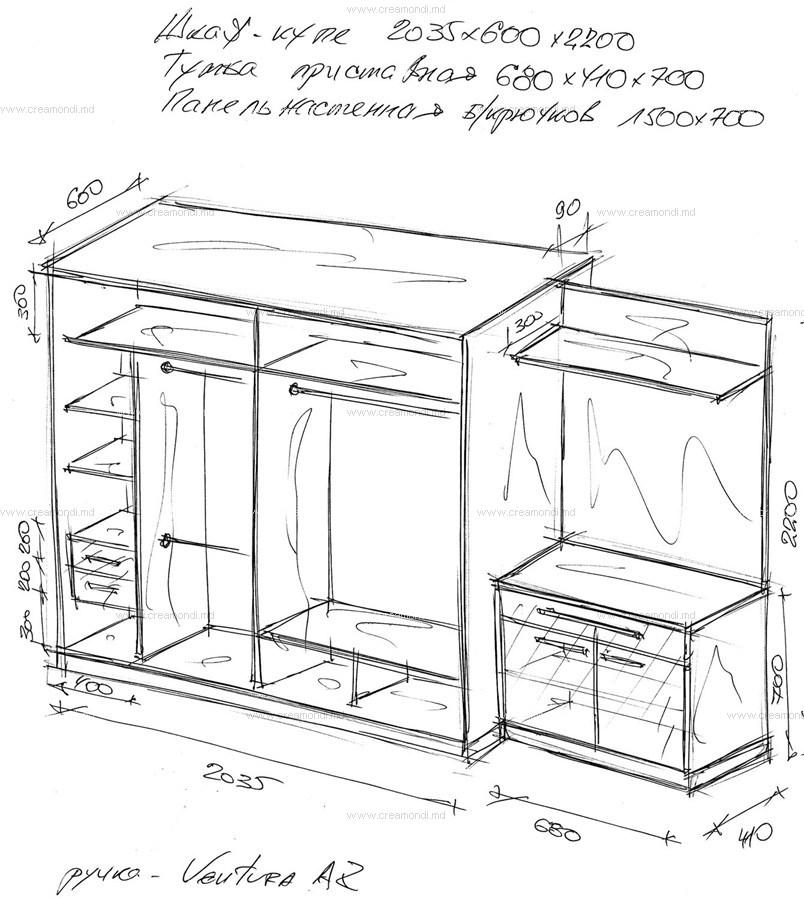 Прихожие с угловым шкафом своими руками чертежи 188