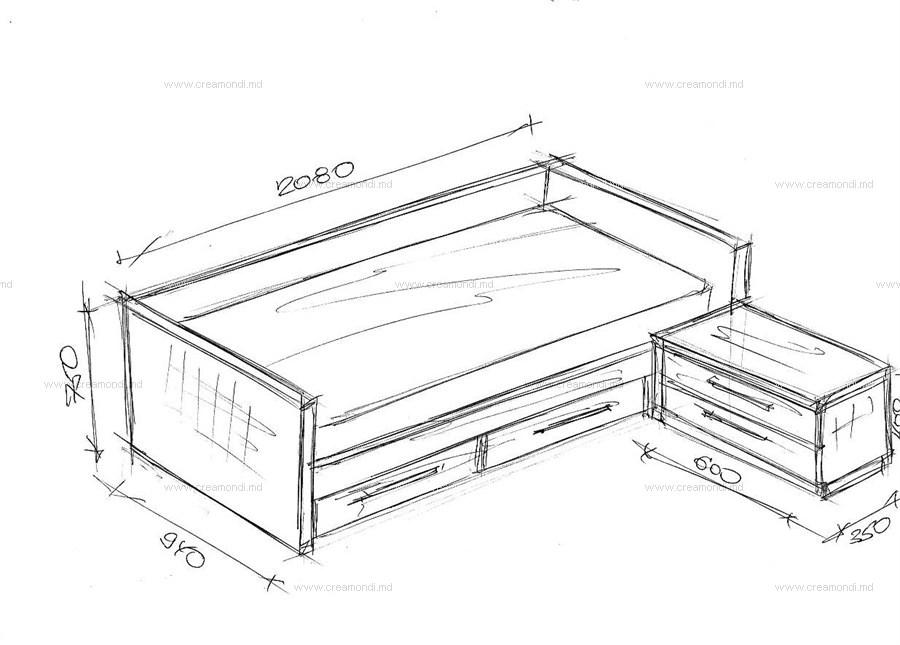 Кровати из дсп своими руками чертежи размеры 562
