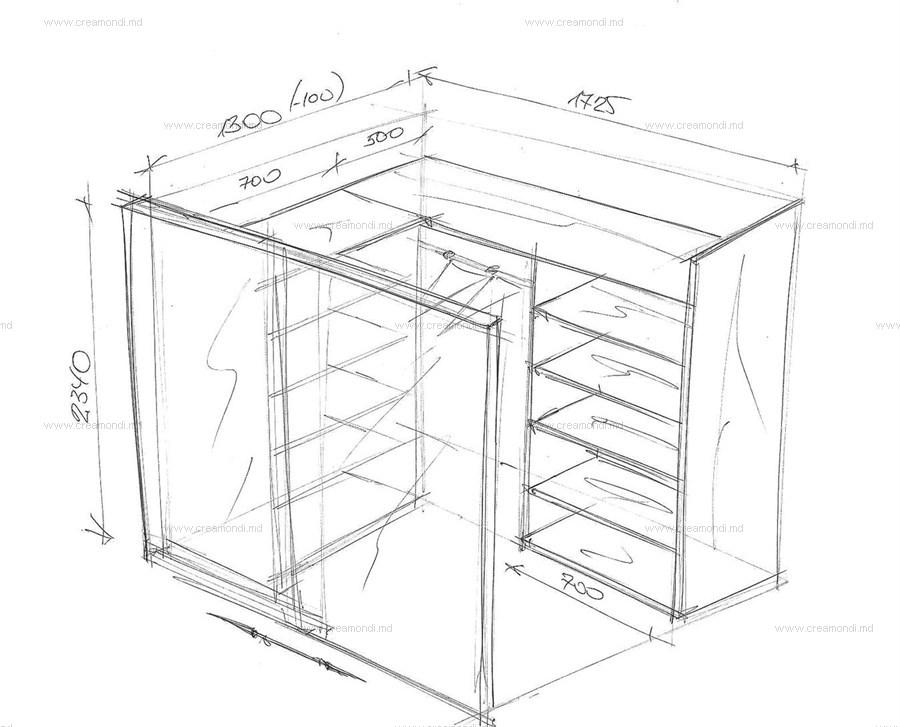 Маленькая гардеробная своими руками чертежи и схемы фото 33