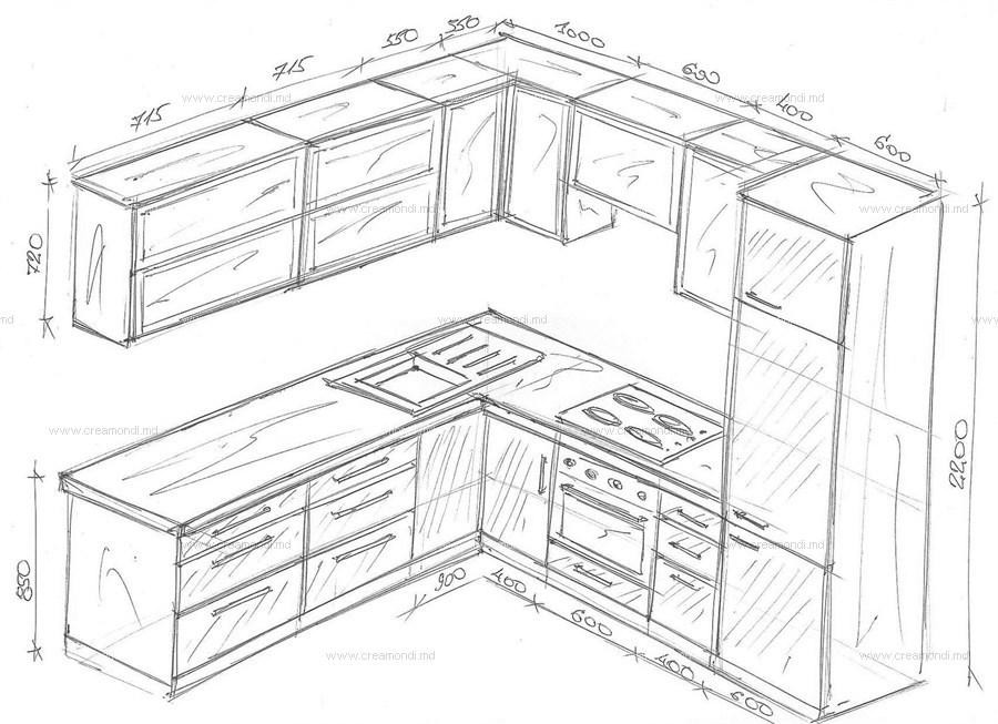 малогабаритные кухни угловые фото