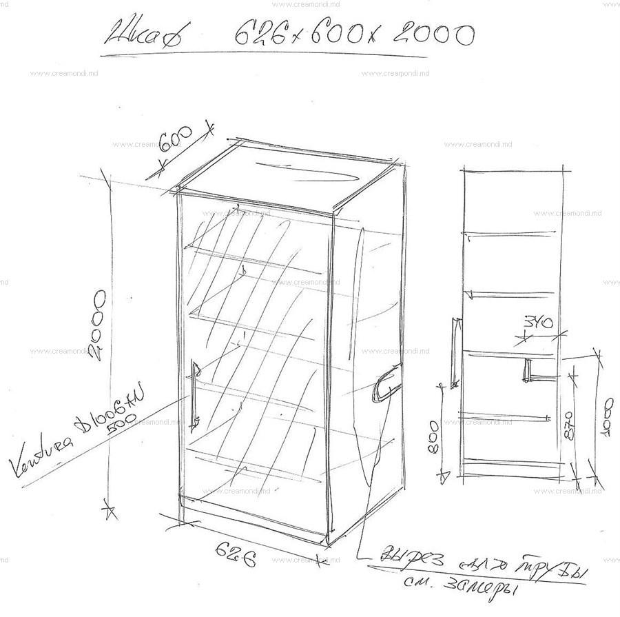 Тумба на балкон чертежи и схемы