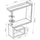 фото столов для кассы в магазине
