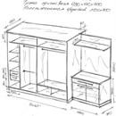 Шкаф в прихожую : варианты изготовления своими руками