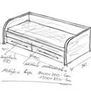 Кровать выдвижная своими руками чертежи и схемы 89