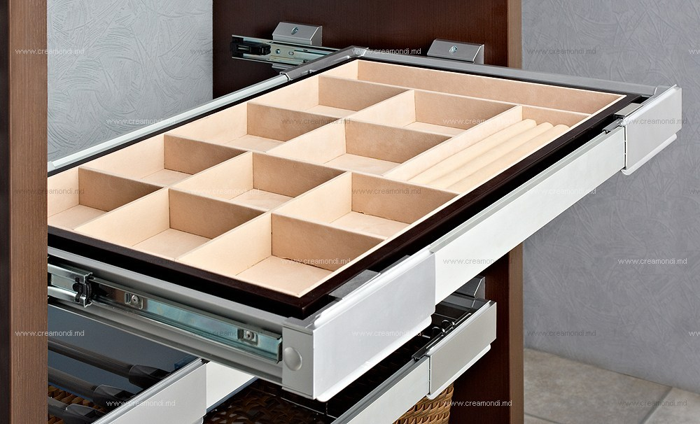 Как сделать внутренние открывающиеся ящики шкафа купе domxat.