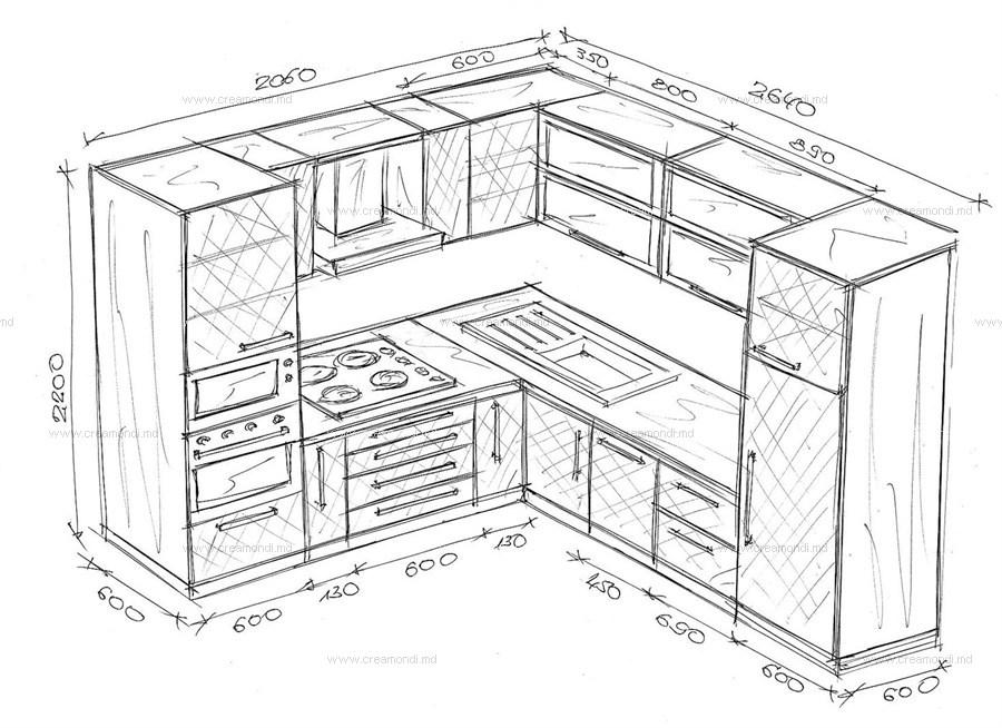 крышка эскизы кухонь с размерами фото ручных инструментов, немного